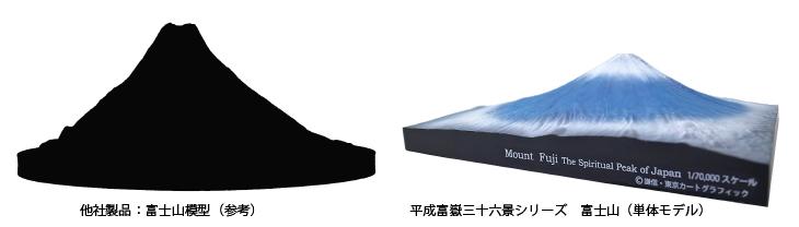 富士山 アート オブジェ 置物